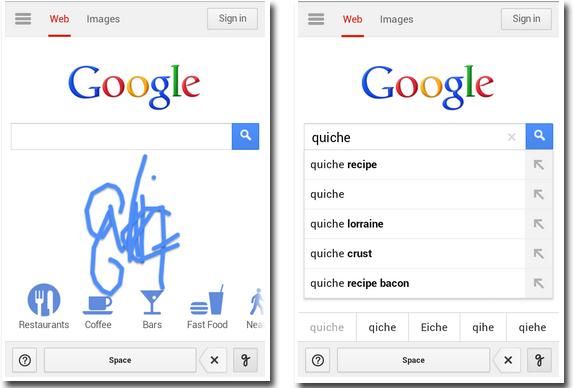 google ecriture