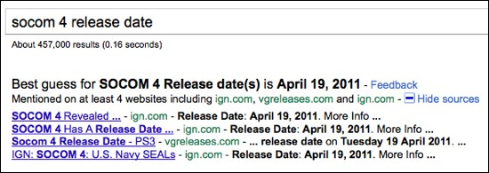 Google realease date