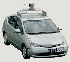 Google voiture sans chauffeur