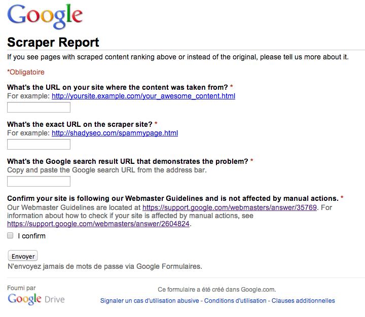 google-scraper-report