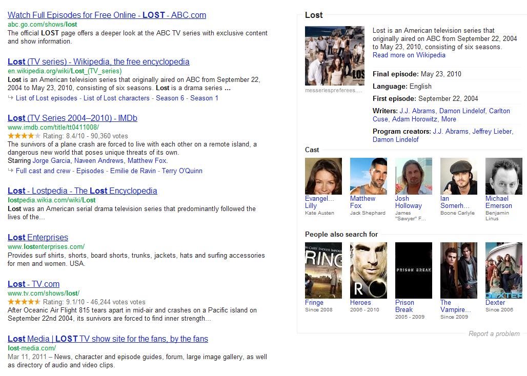 Google semantique