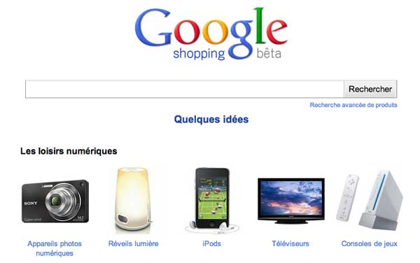 Google Shopping France