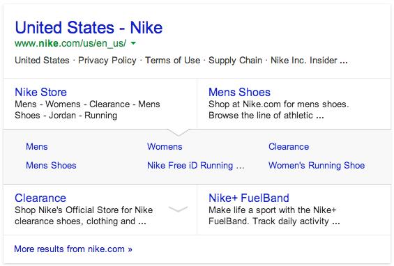 ggoogle-sitelinks-design