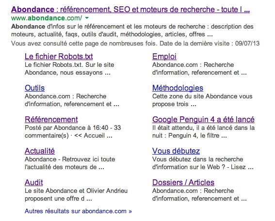 google-sitelinks-old