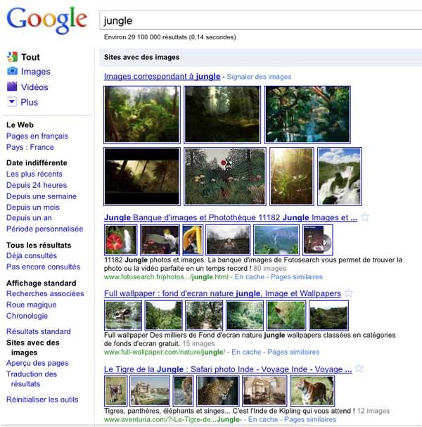 Sites avec des images 2