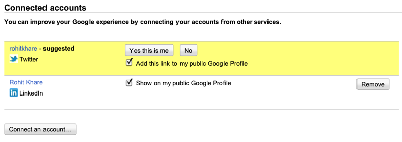 Google Social Search 3