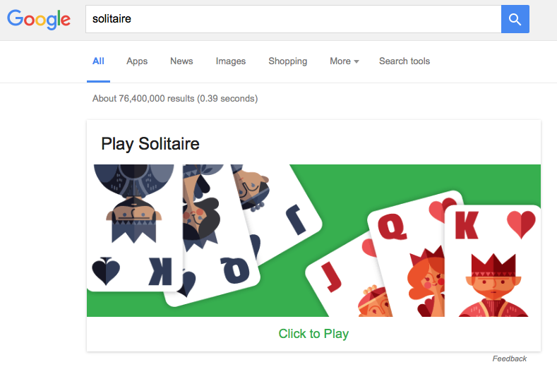 google-solitaire
