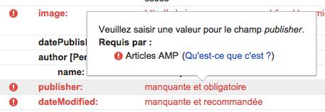 google-testing-tool-amp-errors