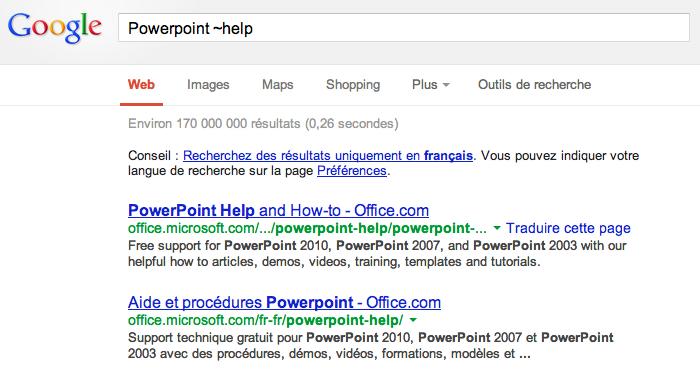 google tilde