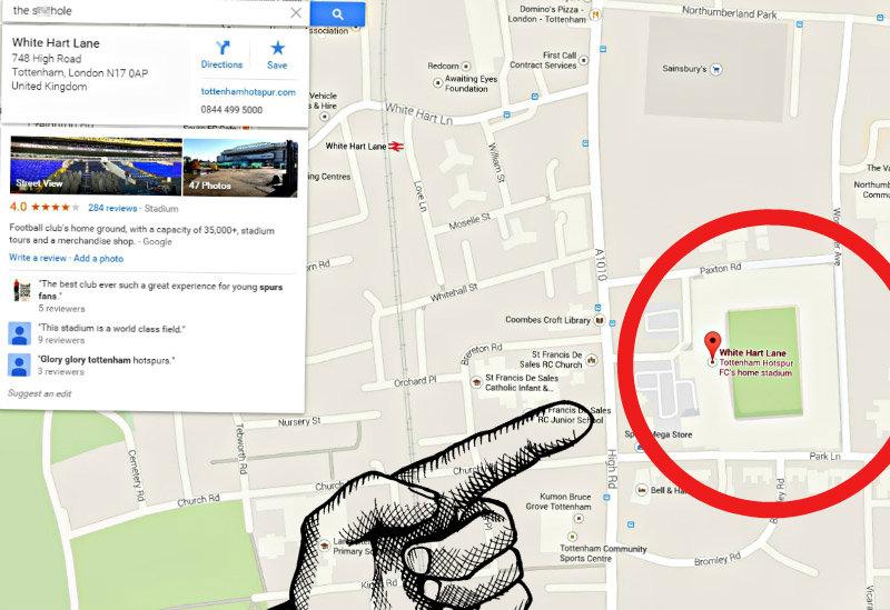 google-tottenham