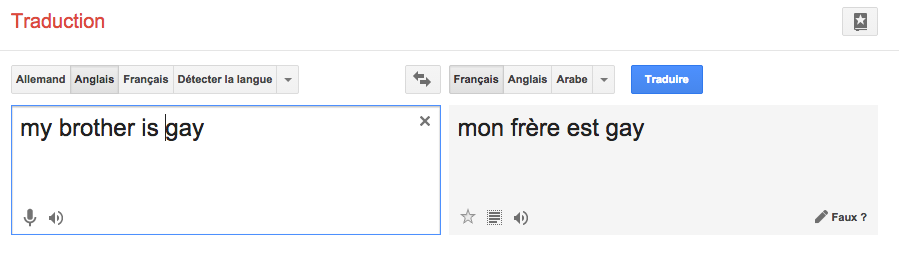 google-traduction-gay
