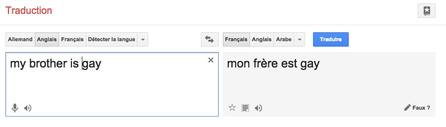 google-traduction-gay