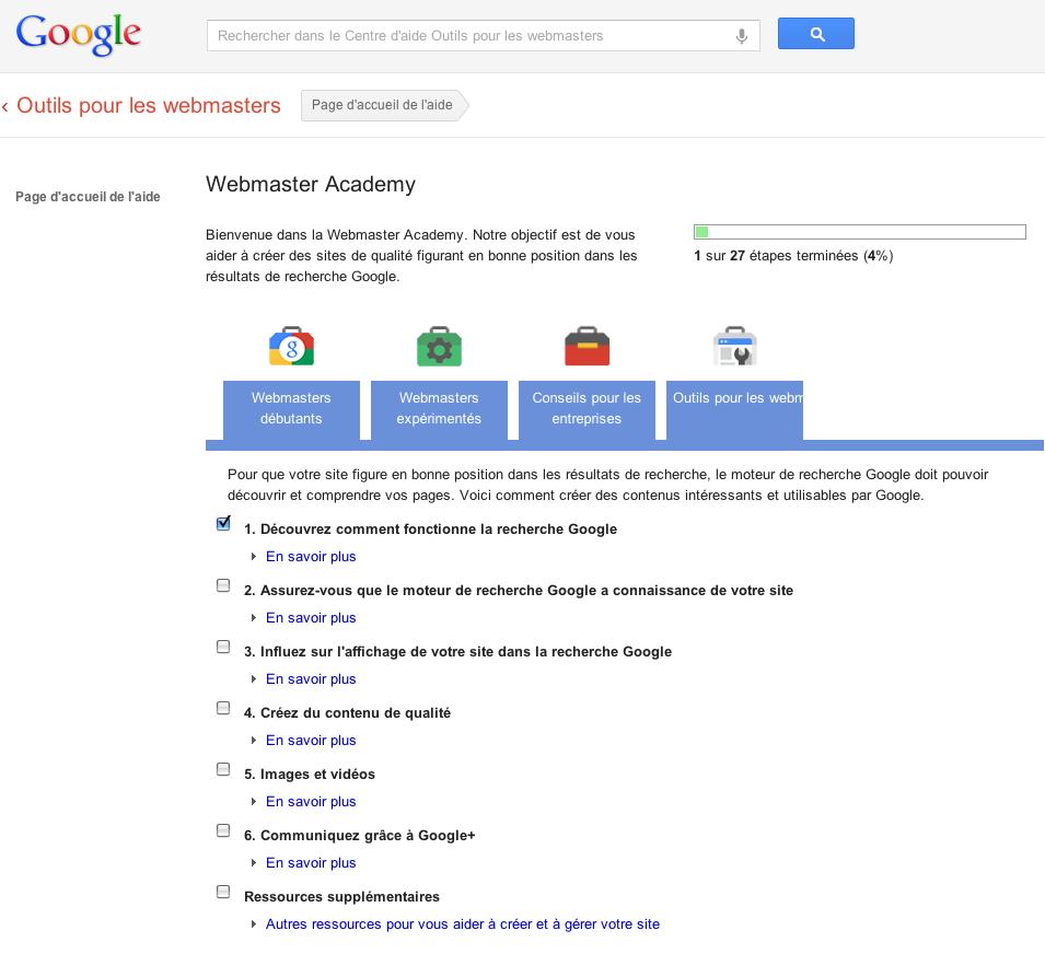 google-webmaster-academy