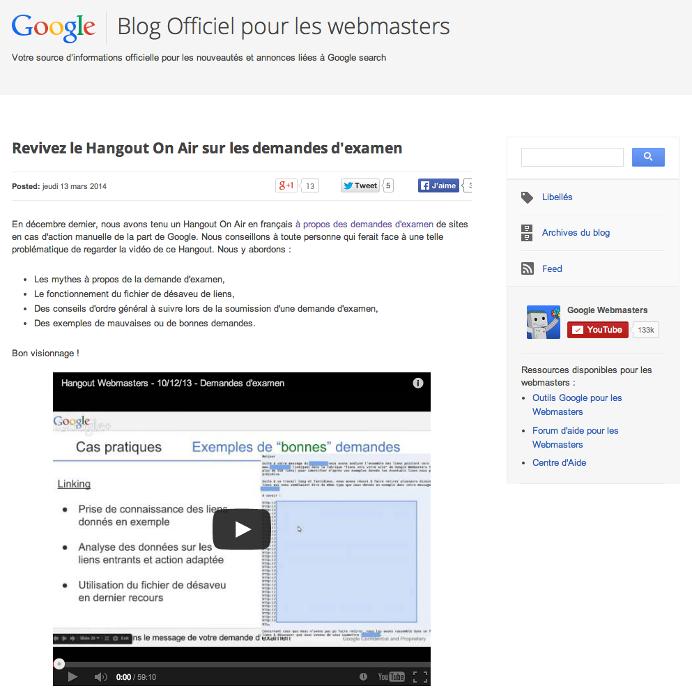 google-webmaster-blog-fr