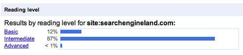 Google reading level 2