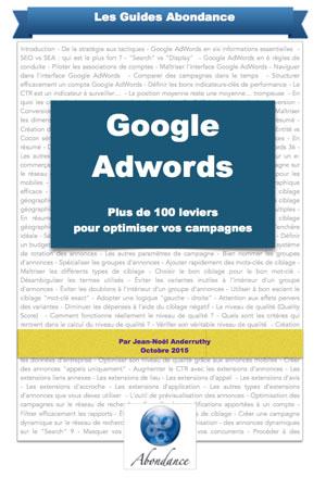 Guide PDF : Google Adwords - 100 leviers pour optimiser vos campagnes