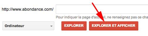 explorer comme google 1