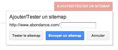 Test Sitemap Google Webmaster Tools
