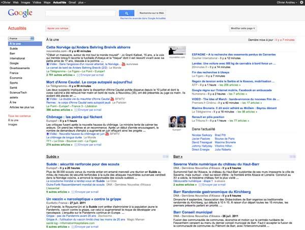 Google News France