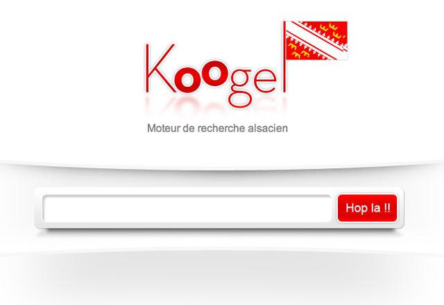 Koogel moteur de recherche alsacien