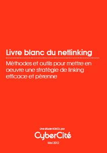 Livre blanc netlinking Cybercite