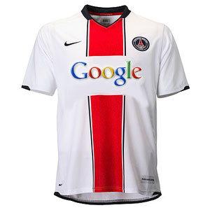 Nouveau maillot PSG - Google