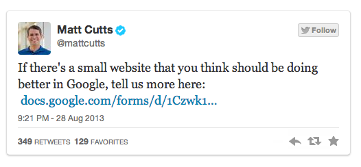 matt-cutts-petits-sites