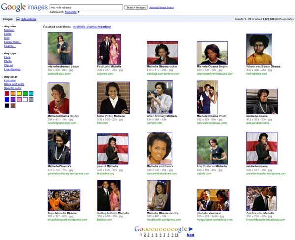 Michelle Obama après