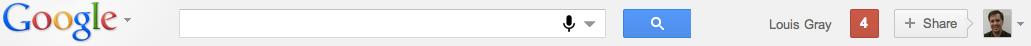 Nouvelle barre Google