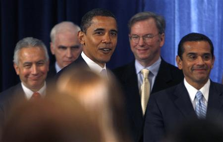 Barcak Obama - Eric Schmidt