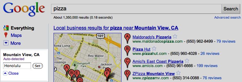 Google geolocalisation 1