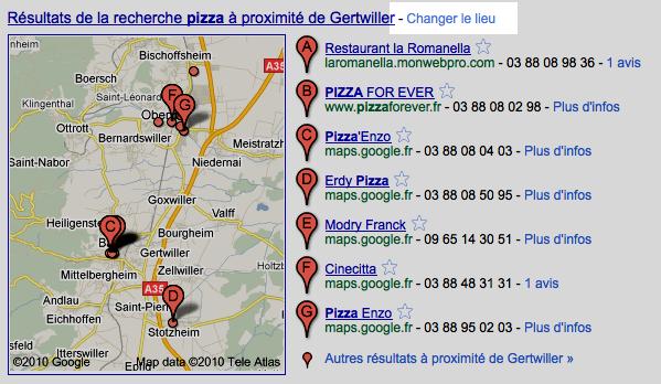 Google geolocalisation 3