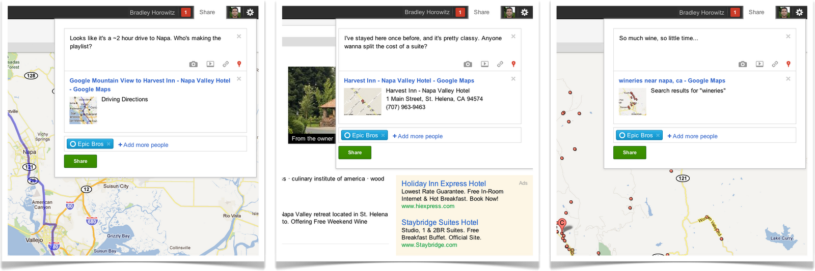 +Snippets Google Maps
