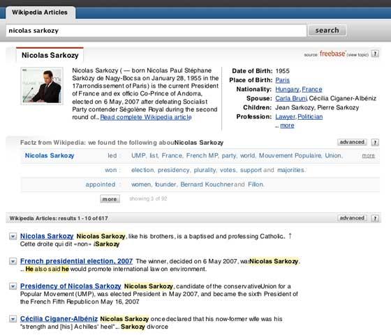 Powerset Wikipedia