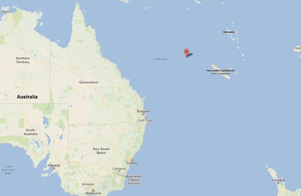 sandy island google earth