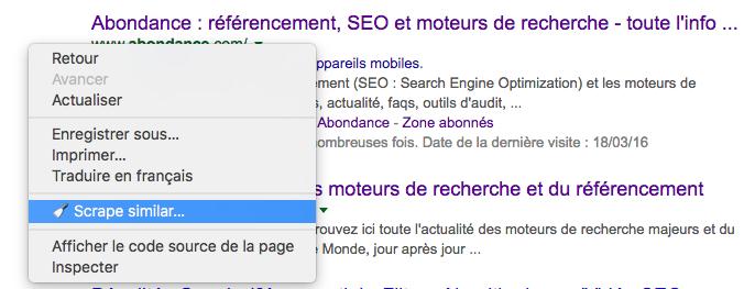 scraper google