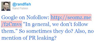 Rand Fishkin twitt