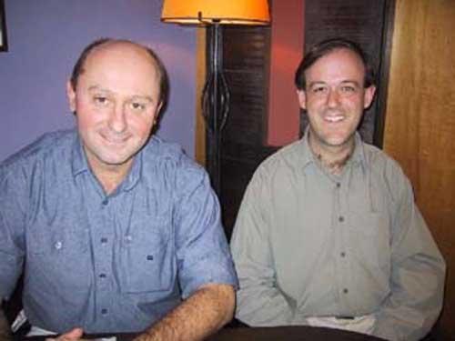 Craig Silverstein avec Olivier Andrieu