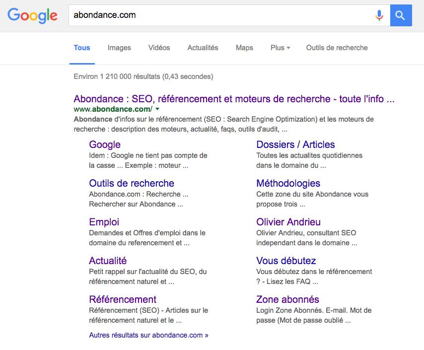 sitelinks-abondance-com-google