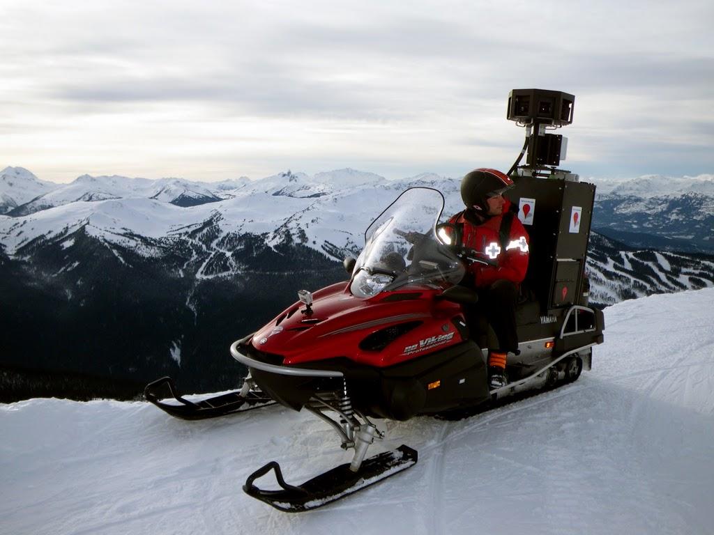 Snowmobile Google
