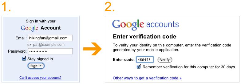 Authentification Google 2