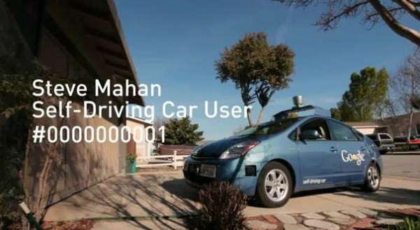 Steve Mahan, voiture Google