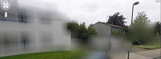 Google Street View flou Allemagne