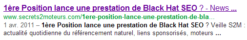 test 1ere Position balise rel=author