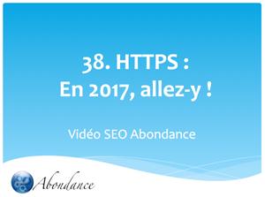 HTTPS : En 2017, Allez-y !