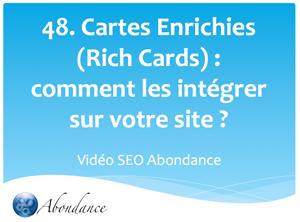 Cartes Enrichies (Rich Cards) : Comment les intégrer sur votre site ?
