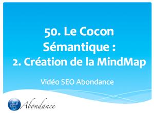 Le Cocon Sémantique : 2. Création de la Mind Map
