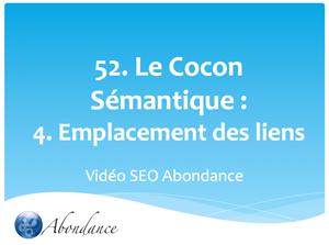 Le Cocon Sémantique : 4. Création des liens. Vidéo SEO