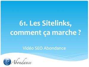 Les SiteLinks (Liens de Site), comment ça marche ?