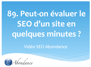 Peut-on faire un audit SEO rapide d'un site web ?
